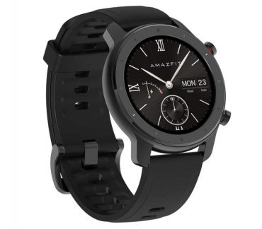 الساعة الذكية amazfit gtr lite 47mm سوداء