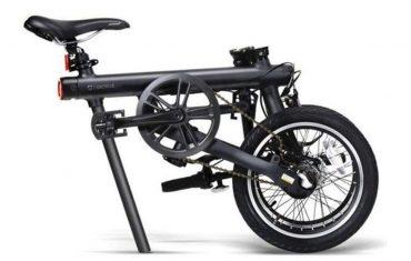دراجة الكترونية Mi Home Mijia QiCycle Folding Electric Bike سوداء