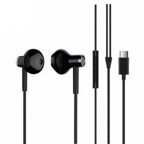 سماعة الأذن السلكية Mi Dual Driver Earphones من شاومي – أسود