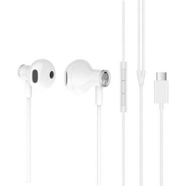 سماعة الأذن السلكية Mi Dual Driver Earphones من شاومي – أبيض
