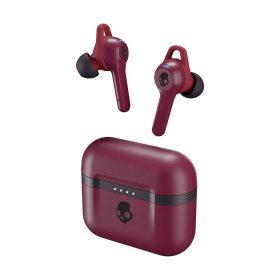 Skullcandy Indy Evo True Wireless In-Ear Earphones - Deep Red